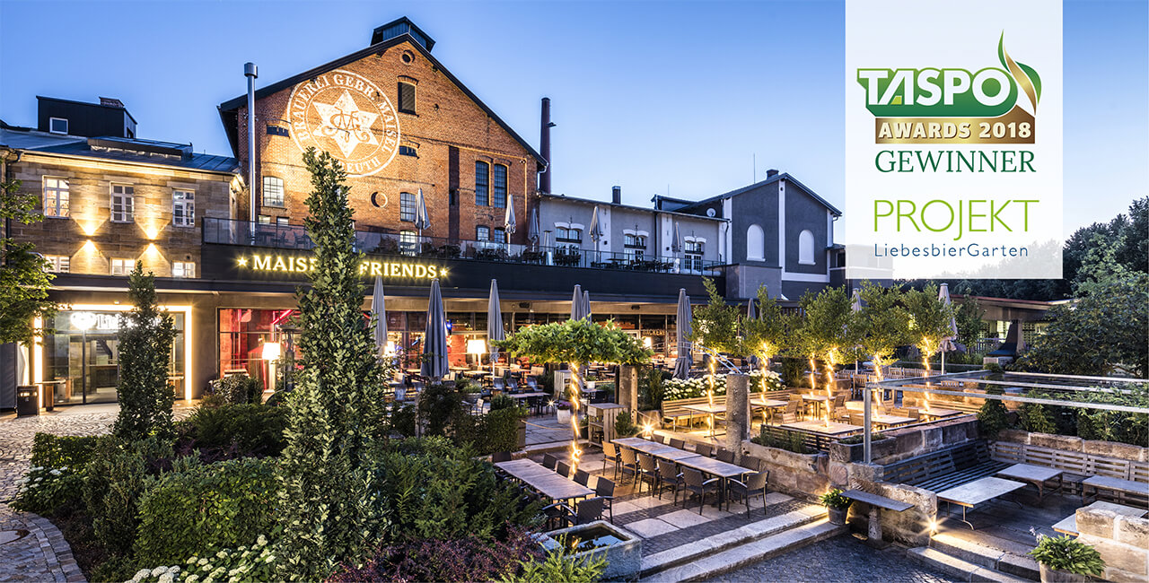 Plan+GartenWerkstatt Taspo Award