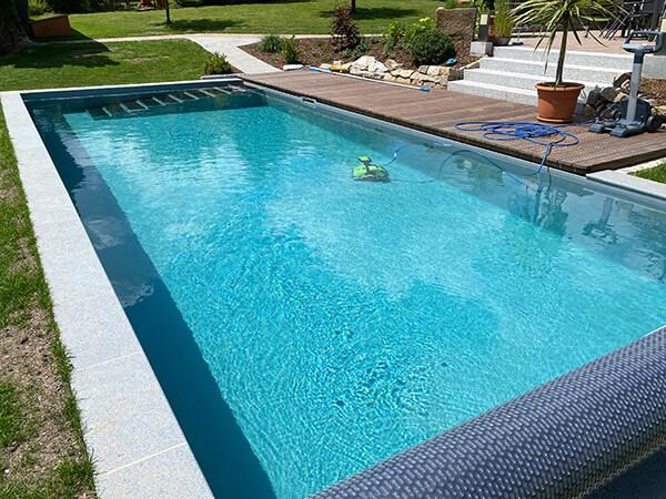Schwimmen im natürlichen Wasser – der BIOTOP Living-Pool