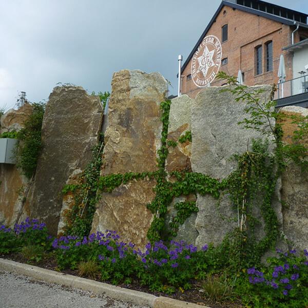 Mauern – mit Grenzen Räume schaffen.